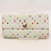 Authentic Louis Vuitton Long Wallet Portefeuille Sarah