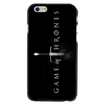 Game Of Thrones hard phone cases for iPhone 6