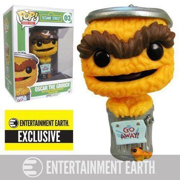 Oscar the Grouch Orange Debut Sesame Street EE Exclusive Funko Pop #03