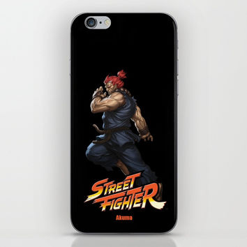 Street Fighter Akuma iPhone Skin by Dexter Gornez