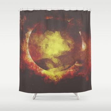 The baby moon Shower Curtain by HappyMelvin