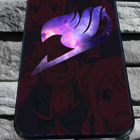 Fairy tail logo grunge for iPhone 4/4s, iPhone 5/5S/5C/6, Samsung S3/S4/S5 Unique Case *76*