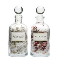 Rose & Lavender Bath Salt Set