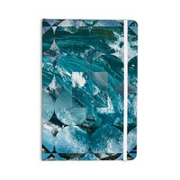 "Matt Eklund ""Crashing"" Blue Geometric Everything Notebook"