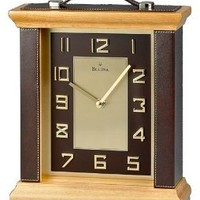 Bulova Leland Unique Table Clock - B2796