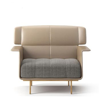 Fashion Beige 47.2'' Loveseat