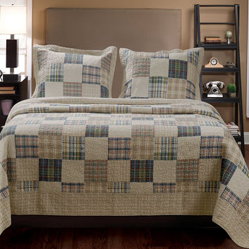 Oxford Quilt Creative Style Magnificent King Set by Greenland Home Fashions