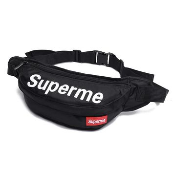 Men's and Women's Supreme Chest Pockets Oxford Casual Riding Bag  051