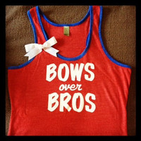 Eco Ringer Tank - Bows over Bros
