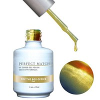 LeChat Perfect Match Gel / Lacquer Combo - Top The Box Office 0.5 oz - #PMS82