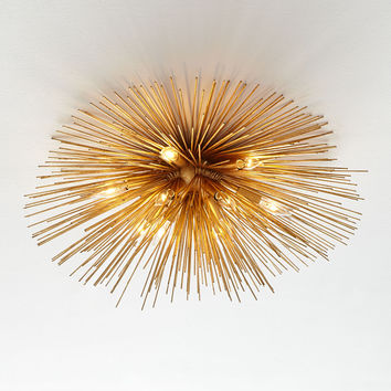 Kelly Wearstler Strada Flush-Mount Ceiling Light