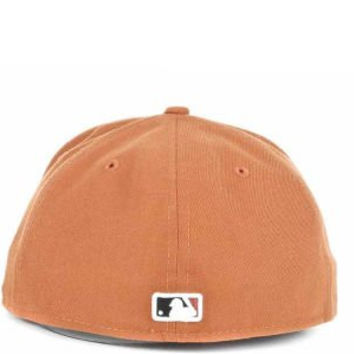 Rare Burnt Orange Men's Fitted Size 7 1/4 Texas Rangers MLB All Leagues 59FIFTY Baseball Hat Cap