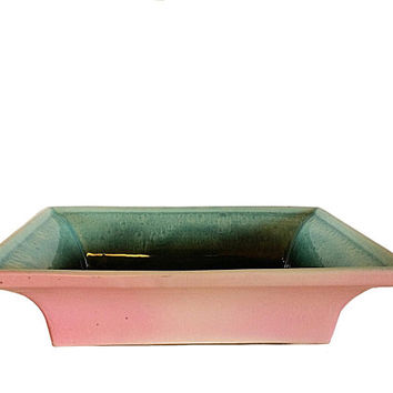 Hull USA, Retro Planter, Hull Retro, Hull Ceramic Dish, Usa Ceramic Dish, Hull Pink Dish, Hull Turquoise, Hull Blue Pan, Hull Loaf Pan, Hull