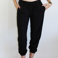 Fancy Pants - Knit Black