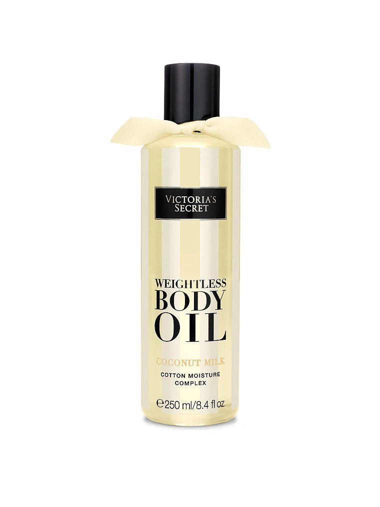 Coconut milk weightless body oil from victoria s secret
