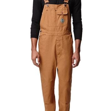Brixton Patterson Overalls - Mens Jeans - Red