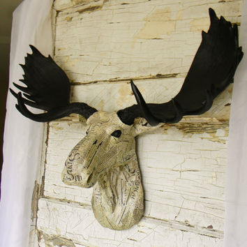 Best animal head wall mount products on wanelo - Fake moose head mount ...