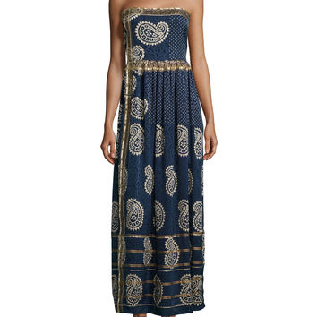 Rosanna Strapless Maxi Dress, Apparition, Size: