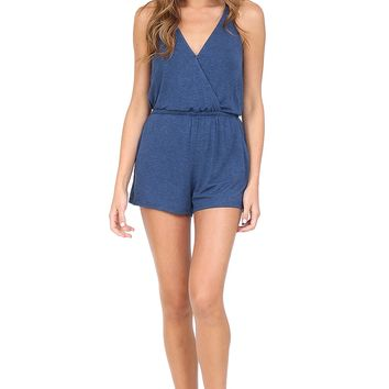 Navy Romper at Blush Boutique Miami - ShopBlush.com : Blush Boutique Miami – ShopBlush.com