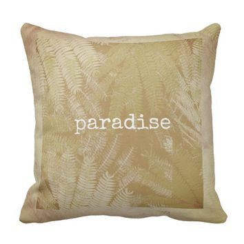 quote pillow original nature art design