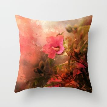 Bliss Throw Pillow by Theresa Campbell D'August Art