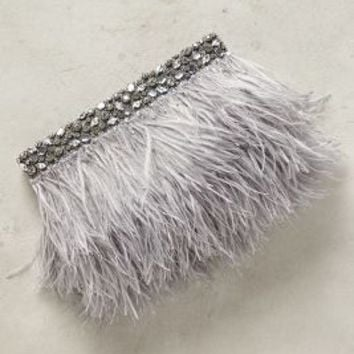 Feathered Fete Clutch by Anthropologie