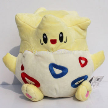 "8"" 18cm Togepi Plush Toy Cute Soft Stuffed Animal Doll Kids Gift"