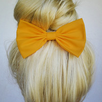 Hair Bow Clip - Artisans Gold