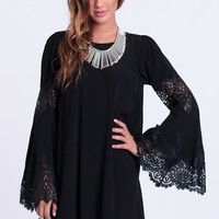 Festival Dress In Black By For Love & Lemons