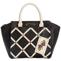 Betsey Johnson Poker Face Satchel