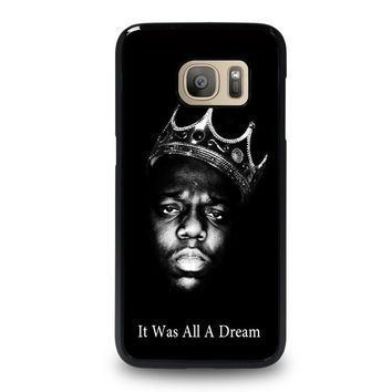 notorious big samsung galaxy s7 case cover  number 1