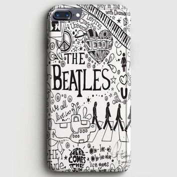 Personalized The Beatles iPhone 8 Plus Case | casescraft