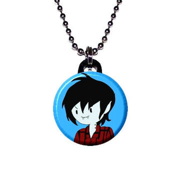 Adventure Time Image Necklace - Marshall Lee