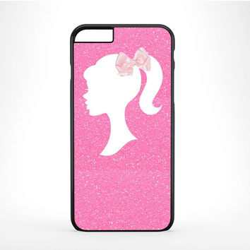 Barbie Silhouette Crystal iPhone 6 Plus Case