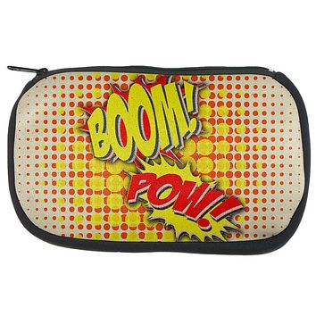 Boom Pow Vintage Comic Book Dice Game Bag