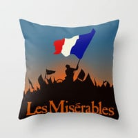 Les Miserables Throw Pillow by TheWonderlander | Society6