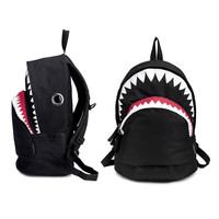 School Bag Big Shark Bite Shark Backpack Bag