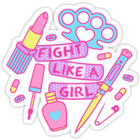 Bad Gal Essentials Sticker