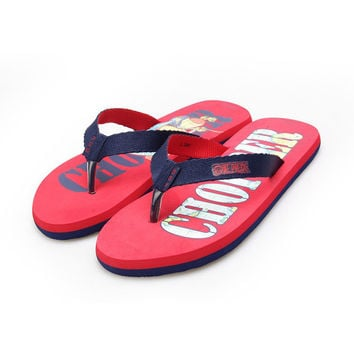 Design Stylish Summer Ladies Print Cartoons Anime Home Sandals [4918324420]