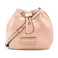 Marc by Marc Jacobs Too Hot to Handle Mini Drawstring Bag in Peach