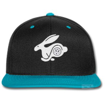 VOLKSVAGEN RABBIT EMBROIDERED beanie or SNAPBACK hat