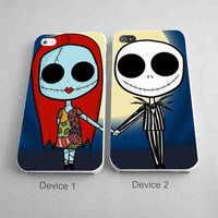 The Nightmare Before Christmas Jack and Sally Matching Phone Cases for iPhone Case