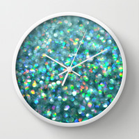 Under the Sea... Wall Clock by Lisa Argyropoulos