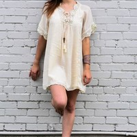 Bohemian Dream Lace Up Dress