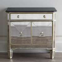 Mirrored Bedroom Furniture, Mirrored Nightstands & Dressers | Horchow