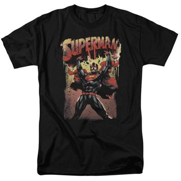 Superman - Lift Up Short Sleeve Adult 18/1