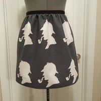 Sherlock inspired full skirt- version 2 - made to order