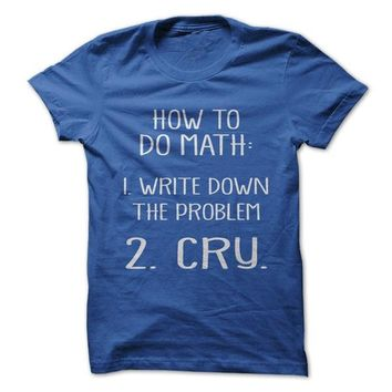 How To Do Math - On Sale