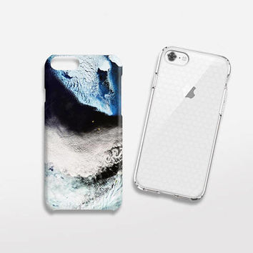 Sea iPhone Case, iPhone 8 Case Tough, iPhone 7 Case Tough, Minimal iPhone Cases, Blue iPhone Case, Sky iPhone Case, Minimalist Phone Cases