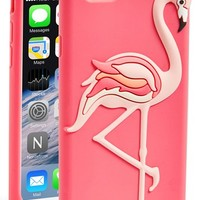 kate spade new york 'flamingo' iPhone 6 silicone case